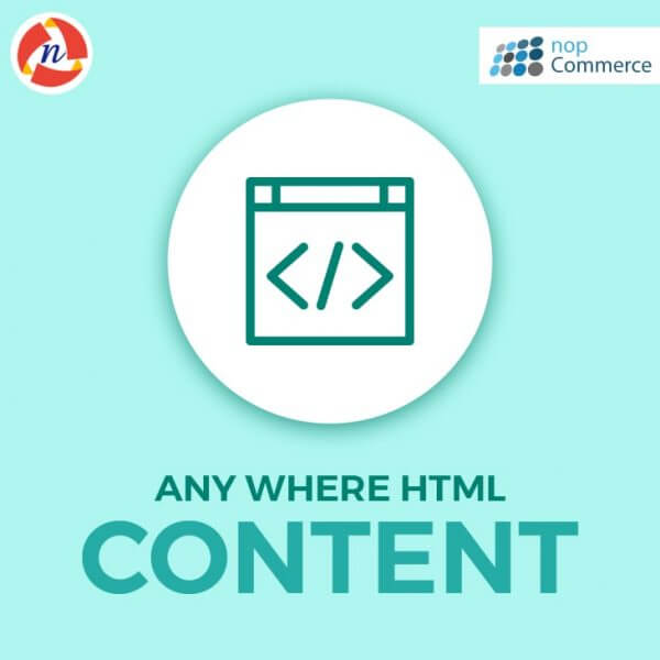 nopCommerce-AnyWhere-HTML-Content-PlugIn