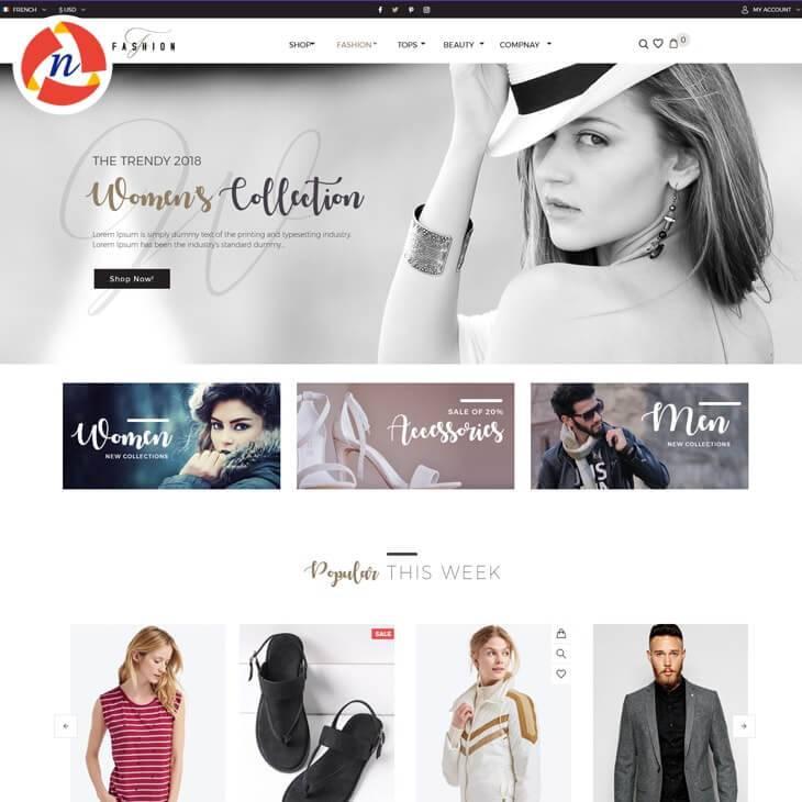Fashion style psd template for fashion store ncode technologies inc fashion style psd template for fashion store maxwellsz