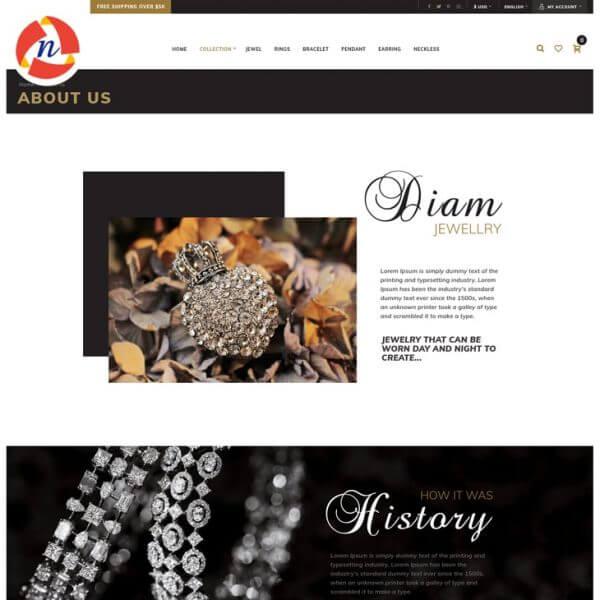 Jewellery(Ecommerce Store)