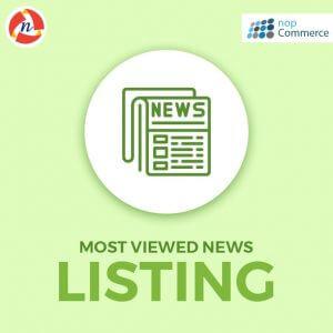 nopCommerce-Most-Viewed-News-Listing-Plugin