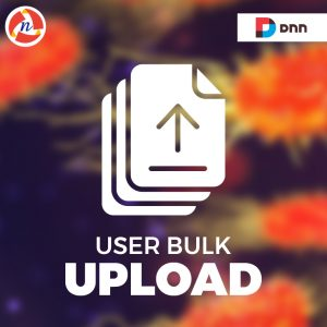 DNN User Bulk Upload Module