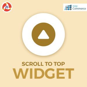 nopCommerce Scroll To Top Widget Plugin