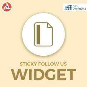 nopCommerce-Sticky-Follow-Us-Widget-Plugin