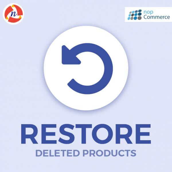 nopCommerce Restore Deleted Products Plugin